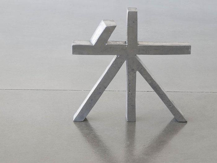 caracter chino 5 fundición de aluminio 2015